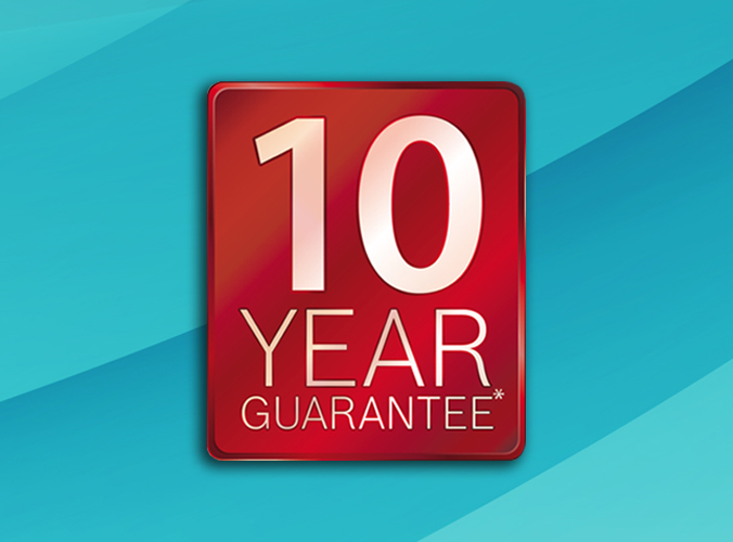 Boiler installations – 10 year guarantees